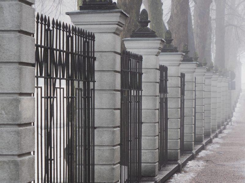 Nagy biztonságú kerítésrendszerek